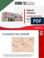 CUADRO DE VANOS