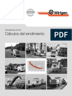 00 RENDIMIENTOS FRESADORAS EN FRIO WIRTGEN