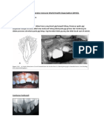 Klasifikasi Fraktur Dentoalveolar Menurut World Health Organization