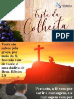 MP O PODER DA PREGAÇÃO FESTA DA COLHEITA