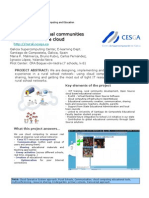 Poster Rural Schools & Cloud Computing project