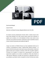 Las voces de Artaud (entrevista a J.Derrida)