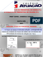 Titulação e Percebtual 2º Série Qmc Ou Miii