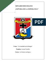 Liturgia y Trinidad Investigacion Lenin