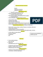 Patologias Respiratorias I