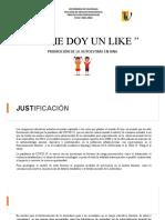 Socialización Proyecto YO ME DOY UN LIKE Junio 11