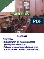 Sanitasi Dan Peralatan