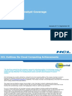 HCL Outlines Its Cloud Computing Achievements