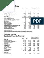 12 Analisis de Estados Financieros - Analisis - Practica Calificada- minaya araujo brigitte