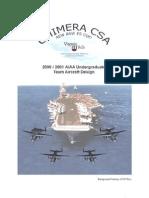 Разработка мнгоцелевого специального палубного самолета