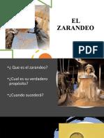 EL ZARANDEO