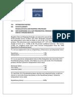 Magellan NH 2012 GOP Presidential Primary Election Survey Topline Results 032411