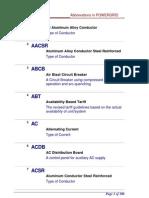 AbbreviationsPowergrid