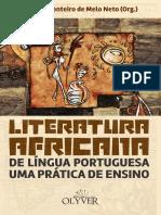 Literatura Africana de Língua Portuguesa Uma Prática de Ensino, Moisés Monteiro de Melo Neto