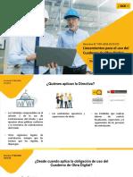 Presentación - Directiva del cuaderno de Obra Digital - Usuarios Internos - OSCE- Transmisión en vivo - 30.12.2020