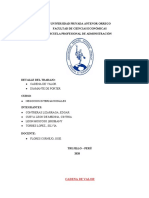 NEGOCIOS CADENA DE VALOR Y DIAMENTE DE PORTER