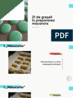 YBI Webinar 21 greșeli Macarons