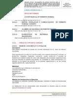 22.  ESTRUCTURA MURETE PARA GRIFO DE RIEGO