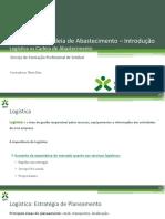 UFCD 8142 – Logística vs Cadeia de Abastecimento