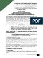 Modelo Solicitud Recálculo Beneficios 50 Soles Decreto Urgencia 105-2001 - Autor José María Pacori Cari