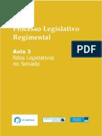 Aula 3 - Processo Legislativo Regimental