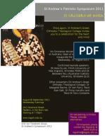 St Andrew's Patristic Symposium 2011