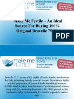 Make Me Fertile - An Ideal Source For Buying 100% Original Bravelle 75 IU