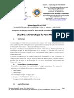 Chapitre 2 Etud Meca Générale II MKA 2 2019 2020