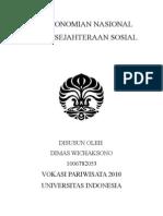 Pancasila - Perekonomian Nasional dan Kesejahteraan Rakyat