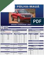 Teste Folha-Mauá - Grand Cherokee Limited