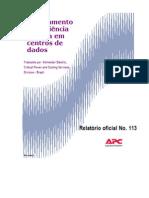 Modelamento da Eficiencia em Data Centers