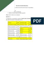 Ejercicios prácticos tarea 2.1 Estados Financieros