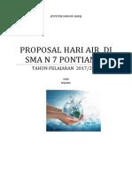 Proposal PLH hari Air 2018