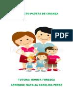 Proyecto Pautas de Crianza -Natalia Perez