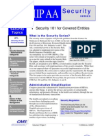 HIPAA Security101 for Covered Entities