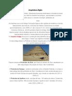 1º ANO 2 Arquitetura Egito