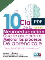 10 CLAVES DE LA NEUROEDUCACION . ebook gratis