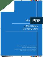 Modulo 2 - Aulas (1 a 4) Metodos de pesquisas