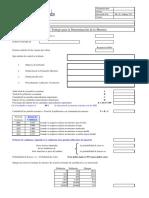 Modelo de papel de trabajo para la Obtención de Muestras