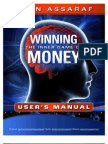 Winning The Inner Game of Money Users Manual