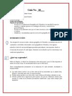 Guía de aprendizaje Ciencias Sociales 4°