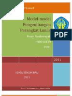 Model-model Pengembangan Perangkat Lunak