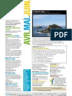 Agenda avril mail juin 2011