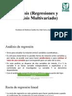 Análisis Multivariado, regresiones