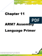 Chapter 11 - ARM7 Assembly Language Primer