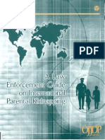 A Law Enforcement Guide on International Parental Kidnapping