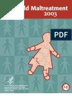 Child Maltreatment 2003