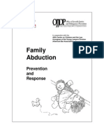 Family Abduction - Prevention and Response