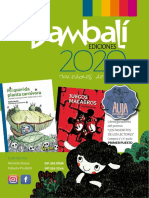 Catálogo 2020 - Bambalí Ediciones Liv_0