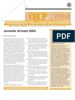 Juvenile Arrest Bulletin 2004